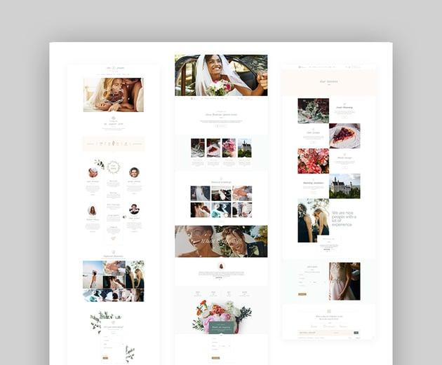Alis Marriage Responsive Wedding WordPress Theme