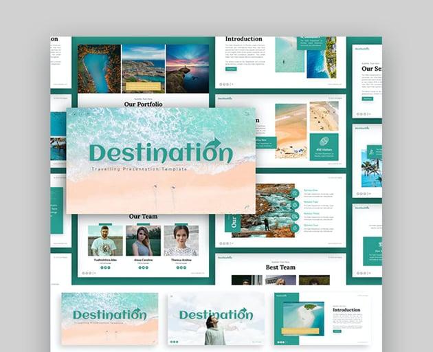 Destination Tourism PPT Template