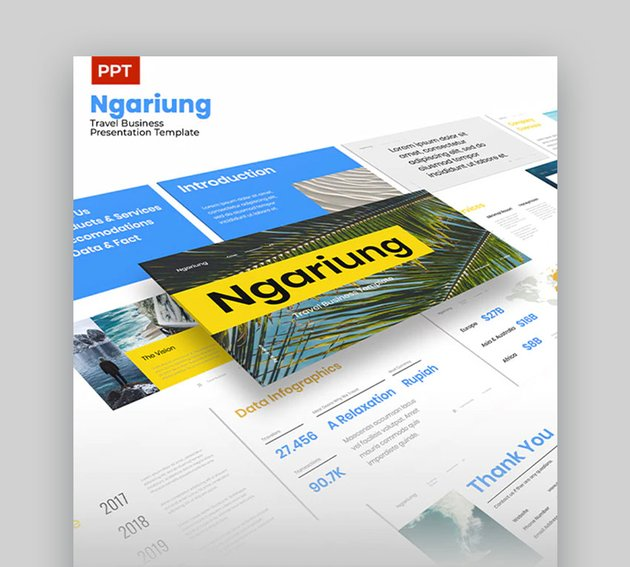 Ngariung Tour and Travel PPT Presentation Download