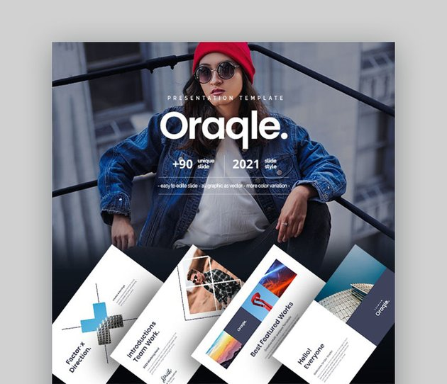 Oraqle Infographic PowerPoint Slides