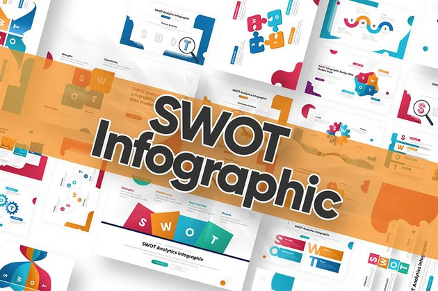SWOT Infographic Infographic Template PowerPoint