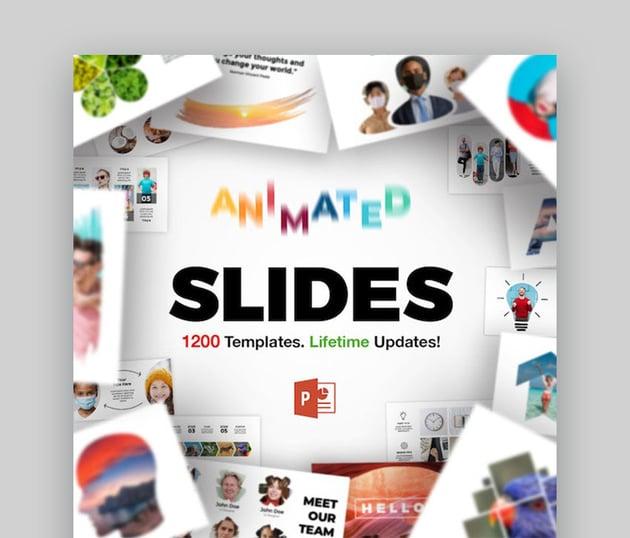 Animierte Folien-Bundle Animierte PowerPoint-Folien