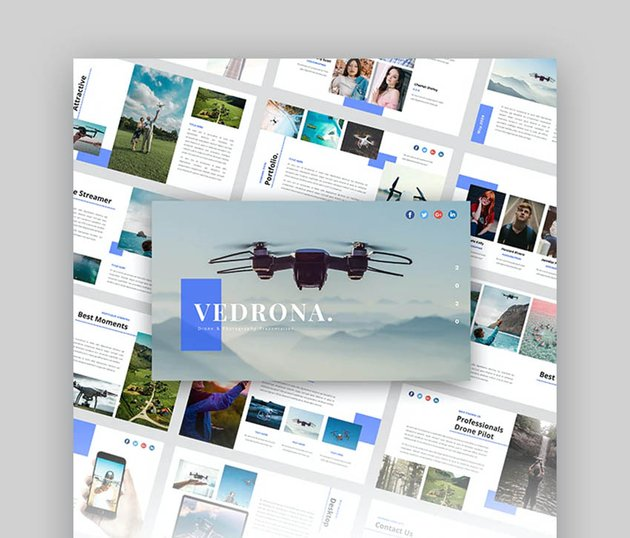 25 Stunning Photography Presentation Templates For New Ppt Slideshows 2020