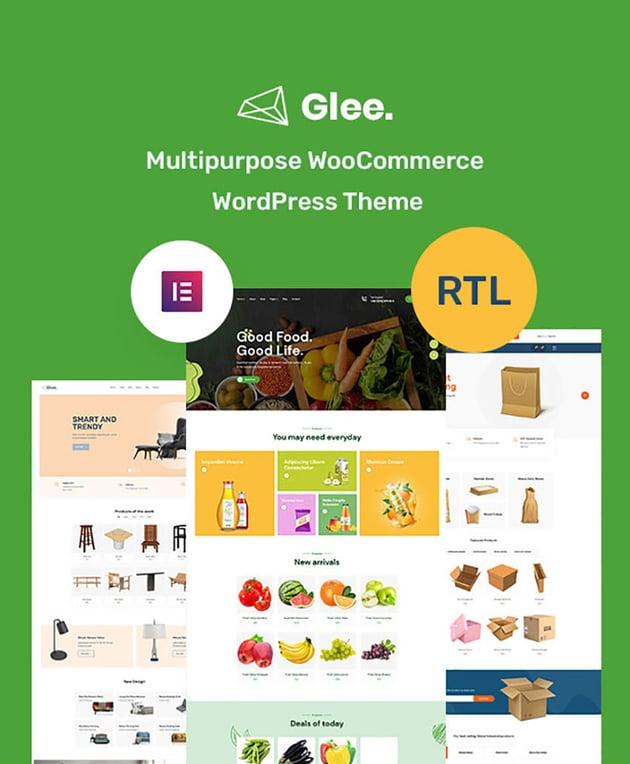 Glee Multipurpose Chiropractic Website Templates
