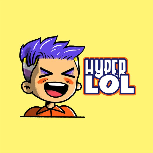 Emote Maker Twitch With Nonbinary Gamer Kawaii Illustration