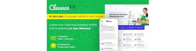Cleanco Pressure Washing WordPress Theme
