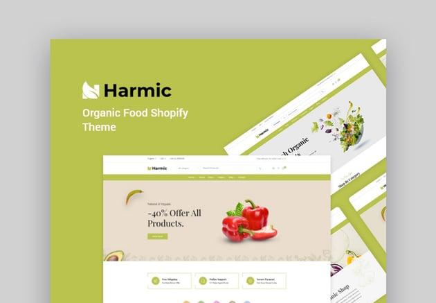 Harmic Organic Online Store Shopify Theme
