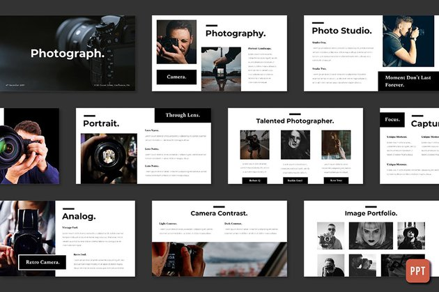 Photography - PowerPoint Photo Slideshow Template