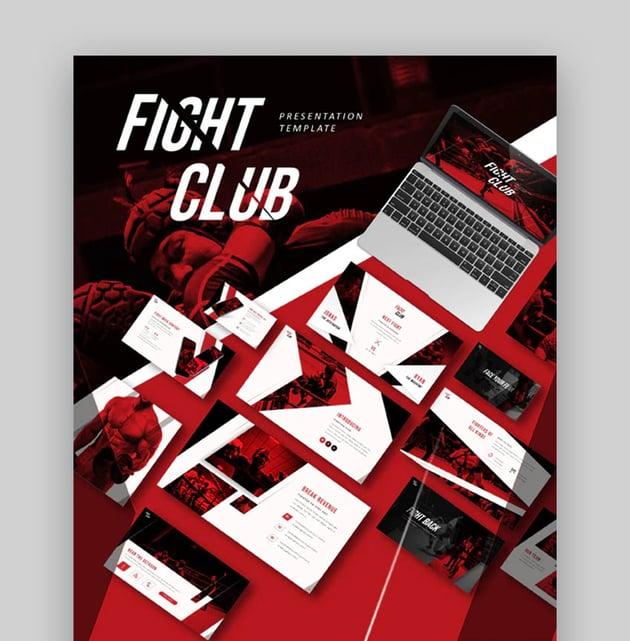 Fight Club PPT on Sports