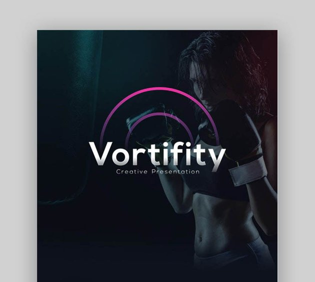 Vortify Sports PowerPoint Template