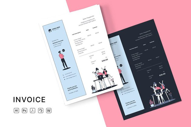 Best Invoice Template Word