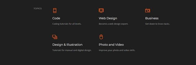 web designing in html code project tutorial services section