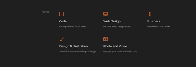 web designing in html code project tutorial icon changes