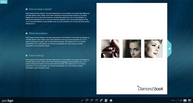 Diamond jQuery FlipBook Plugin