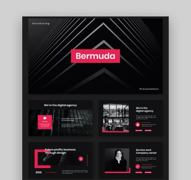 Bermuda Business Keynote Template