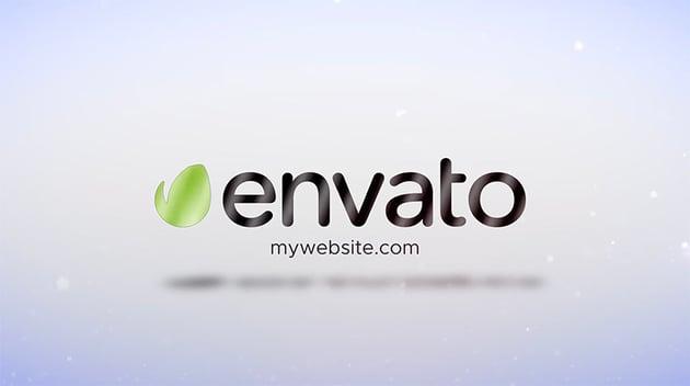 Clean Simple Logo Reveal DaVinci Resolve Template