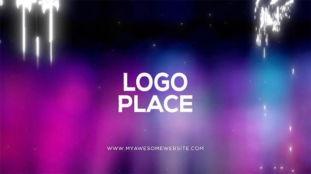 DaVinci Resolve Glitch Logo Intro Template
