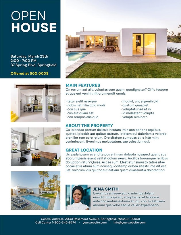 Open House Adobe Brochure Tutorial