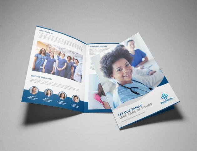 InDesign Pamphlet Tutorial Medical Brochure