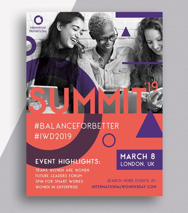 InDesign Flyer Pamphlet Tutorial International Womens Day