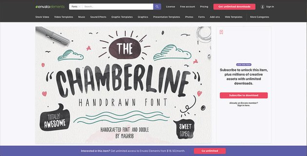 How to Download and Install a Font From Envato Elements