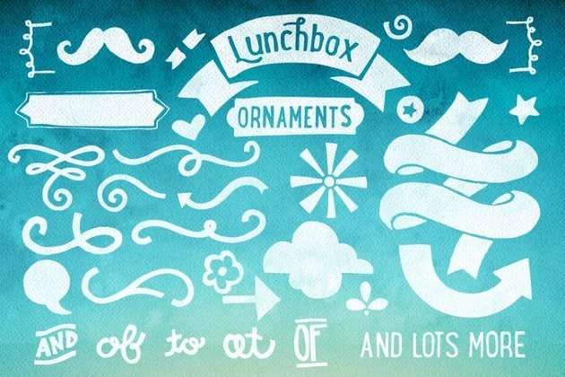 Lunchbox font