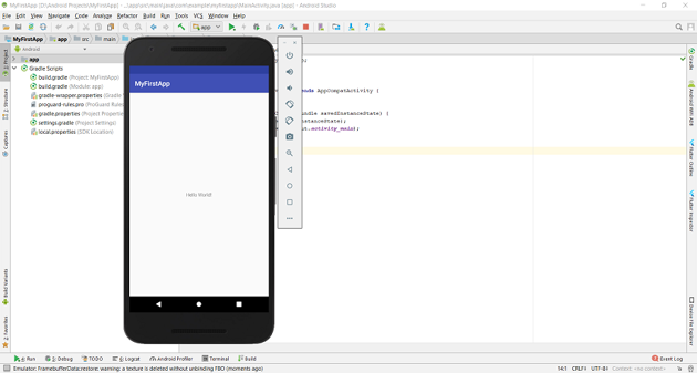 Android Virtual Device - AVD
