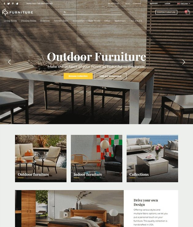 Kallyas is a multi-purpose theme for online stores