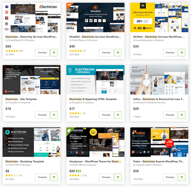 ThemeForest - the biggest template store on the internet