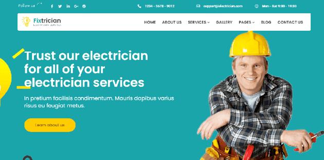 Handyman - Modern WordPress theme for different service providers