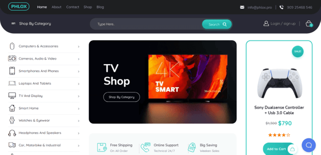 Phlox Pro - one of the most popular themes on ThemeForest