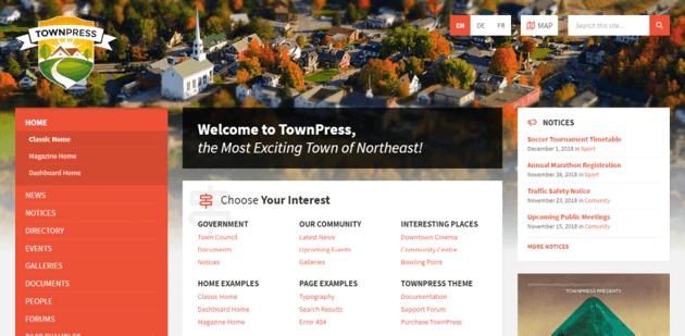 TownPress - forum WordPress theme for Elementor-based websites