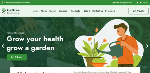 Gettree - An eCommerce HubSpot theme