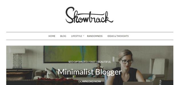 MinimalistBlogger - A clean WordPress theme for writers