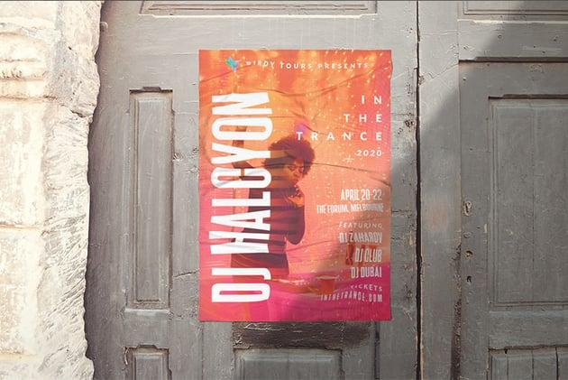 Event Poster final result