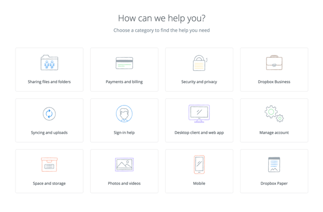 Alignment by Dropbox