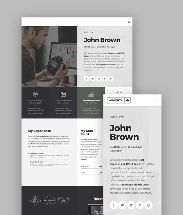 Argenta - Multipurpose WordPress Theme