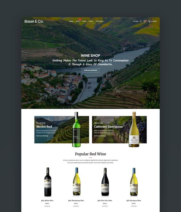 Basel - Responsive eCommerce Shopify Theme Templates