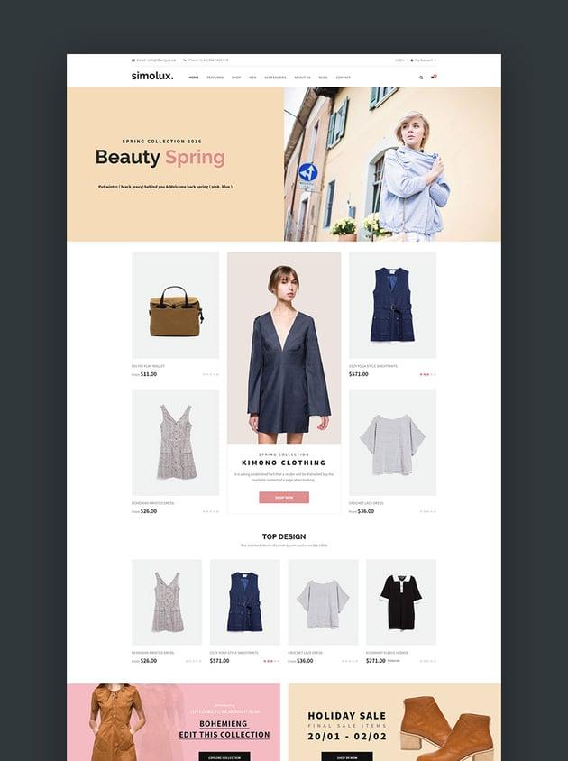 Simolux - Responsive Shopify Theme