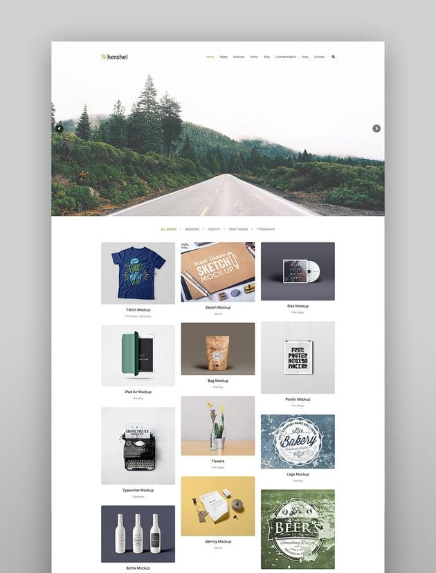 Hershel - Multipurpose WordPress Theme