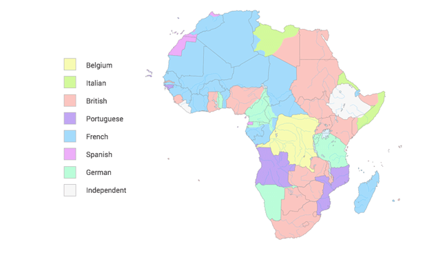 Colonial Africa 1914