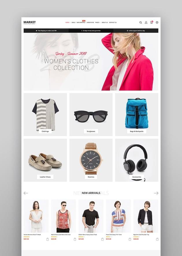 Market Premium Responsive Magento 2 and 19 Store Theme