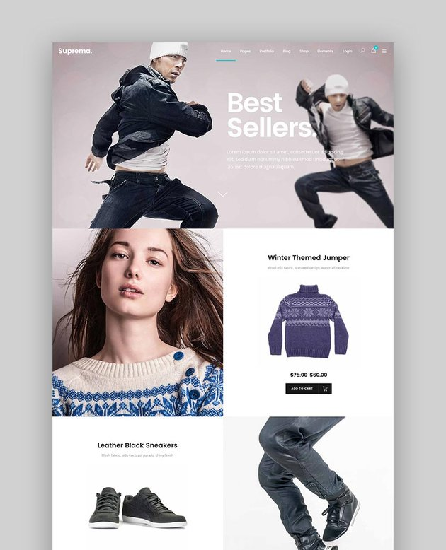 Suprema - eCommerce Online Store Theme