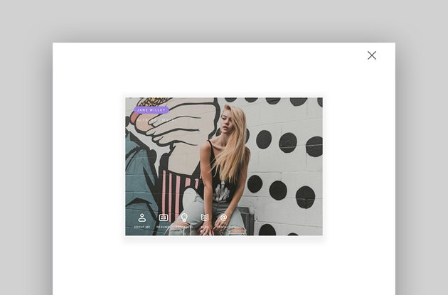 unRovr - Animated vCard Resume WordPress Theme