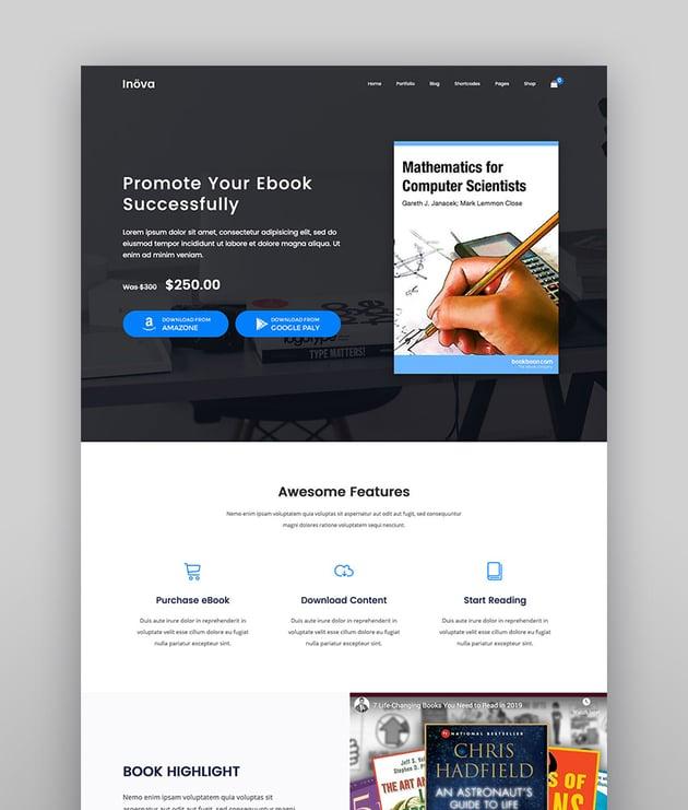 Inova - Creative Multi-concept WordPress Theme With WooCommerce
