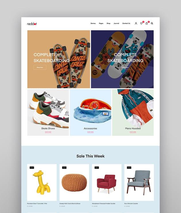 Reddot - Minimal Modern WooCommerce WordPress Theme