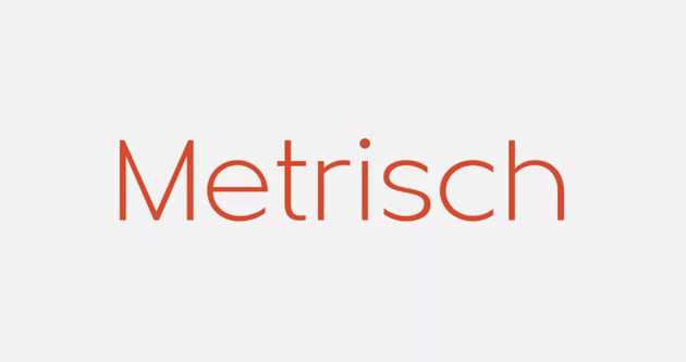 Metrisch by formikalabs