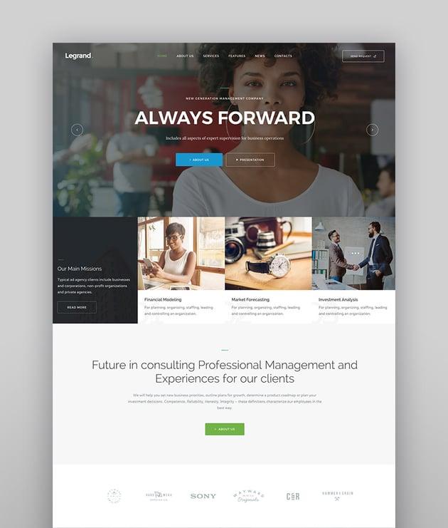 LeGrand  A Modern Multi-Purpose Business WordPress Theme