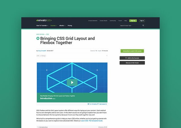Bringing CSS Grid Layout and Flexbox Together