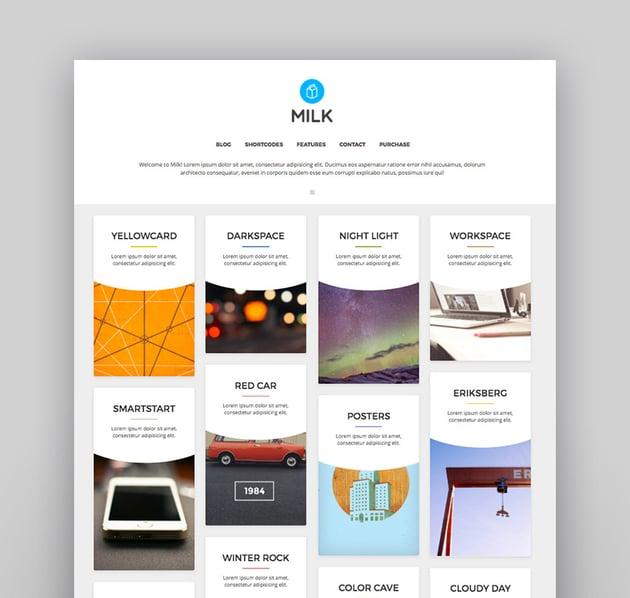 Milk simple masonry portfolio